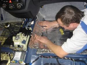 Шумоизоляция в автомобиле своими руками