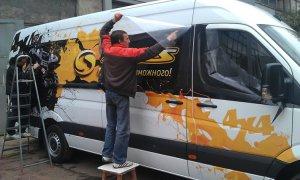 Оклейка авто камуфляжной пленкой в Москве